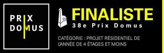 finaliste prix domus residentiel 38e édition