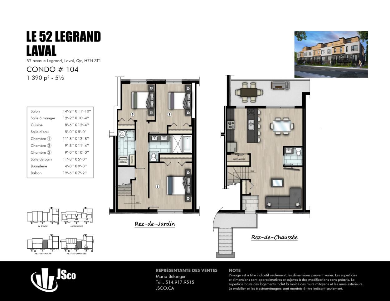 The 52 Legrand